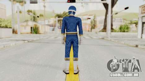 Power Rangers Lightspeed Rescue - Blue para GTA San Andreas terceira tela