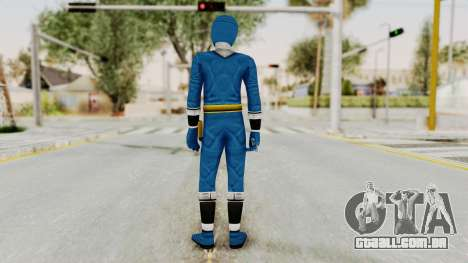 Alien Rangers - Blue para GTA San Andreas terceira tela