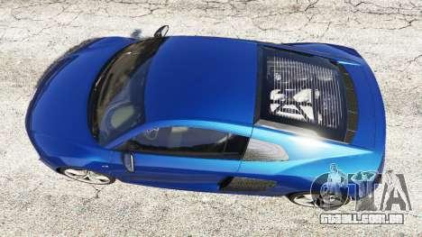 Audi R8 V10 Plus 2015 para GTA 5