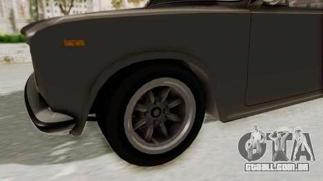 Seat 1430 FU para GTA San Andreas vista traseira