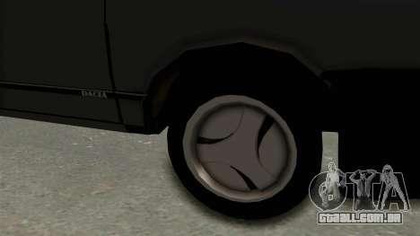 Dacia 1310 TX para GTA San Andreas vista traseira