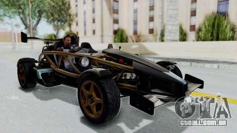Ariel Atom 500 V8 para GTA San Andreas vista direita