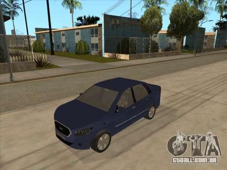 Datsun on-DO para GTA San Andreas esquerda vista