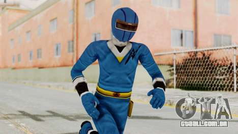 Alien Rangers - Blue para GTA San Andreas