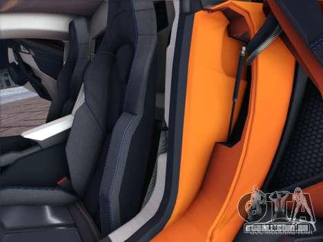 A W Motors, Lykan hypersport 2015 HQ para GTA San Andreas vista interior