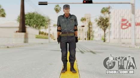 MGSV Phantom Pain Zero Risk Security Combat v2 para GTA San Andreas segunda tela