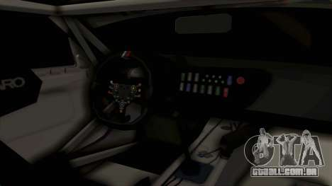 BMW Z4 GT3 Tobisawa Misaki para GTA San Andreas vista interior