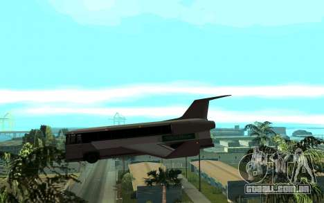 Sky Bus para GTA San Andreas esquerda vista