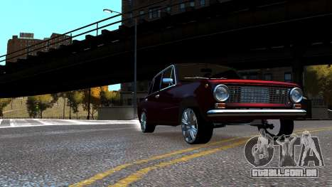 VAZ 21011 Style para GTA 4 vista direita