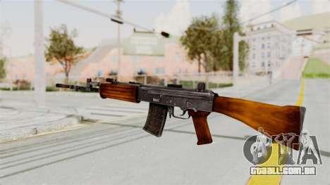 IOFB INSAS Detailed Orange Skin para GTA San Andreas segunda tela
