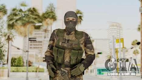 MGSV TPP Diamond Dog Combat Female para GTA San Andreas