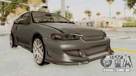 Honda Civic Hatchback 1994 Tuning para GTA San Andreas vista direita