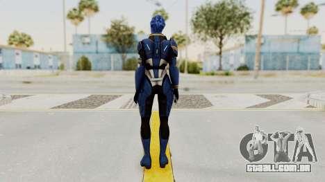 Mass Effect 2 Tesla Vasir para GTA San Andreas terceira tela