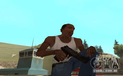 Redline weapon pack para GTA San Andreas