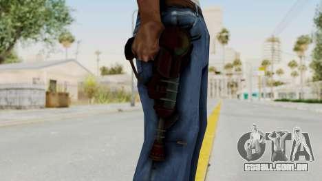 Ray Gun from CoD World at War para GTA San Andreas terceira tela