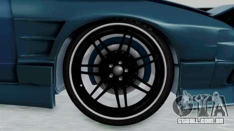 Nissan 180SX BETA para GTA San Andreas vista traseira