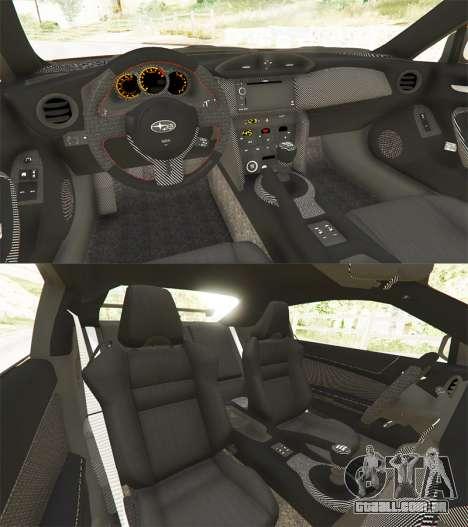 GTA 5 Subaru BRZ Rocket Bunny voltar vista