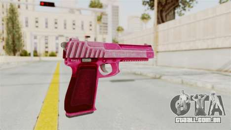 GTA 5 Pistol .50 Pink para GTA San Andreas terceira tela