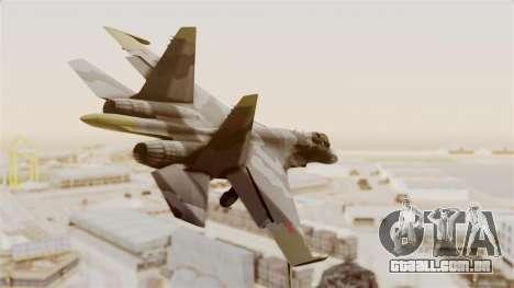 SU-27 Hydra para GTA San Andreas vista direita