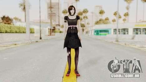 Madoka Tsukimori (Goth Version) para GTA San Andreas segunda tela