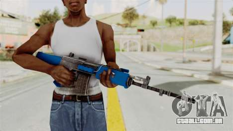 IOFB INSAS Dark Blue para GTA San Andreas terceira tela