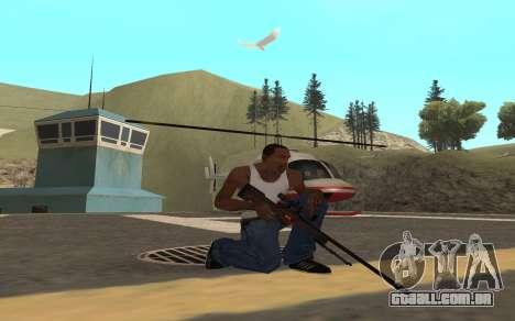 Redline weapon pack para GTA San Andreas por diante tela