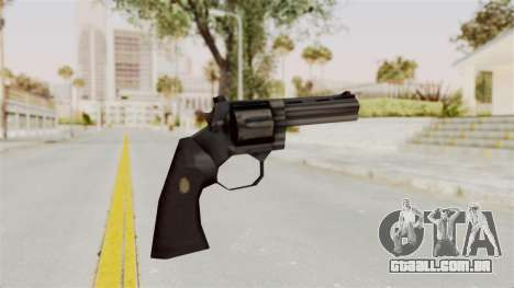 Liberty City Stories Colt Python para GTA San Andreas terceira tela