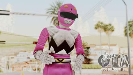 Power Rangers Lost Galaxy - Pink para GTA San Andreas
