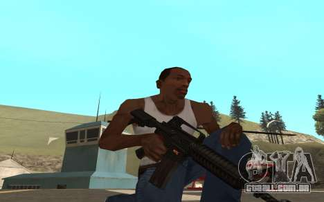Redline weapon pack para GTA San Andreas terceira tela