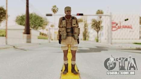 MGSV Phantom Pain CFA Combat Vest 2 v1 para GTA San Andreas segunda tela