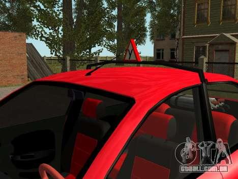 Daewoo Lanos (Sens) 2004 v2.0 by Greedy para GTA San Andreas interior