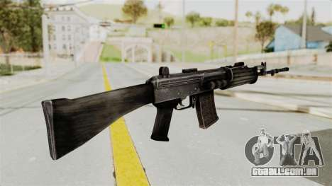 IOFB INSAS Detailed Black Skin para GTA San Andreas segunda tela