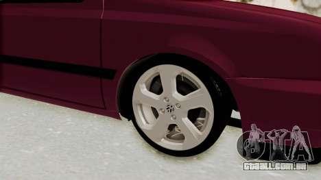 Volkswagen Golf 3 para GTA San Andreas vista traseira