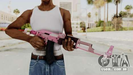Assault Rifle Pink para GTA San Andreas