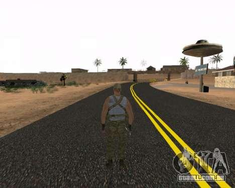 Pak Militar Russo para GTA San Andreas segunda tela
