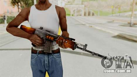 IOFB INSAS Detailed Orange Skin para GTA San Andreas terceira tela