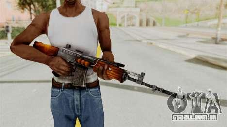 IOFB INSAS Detailed Orange Skin para GTA San Andreas terceira tela
