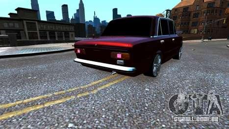 VAZ 21011 Style para GTA 4 traseira esquerda vista