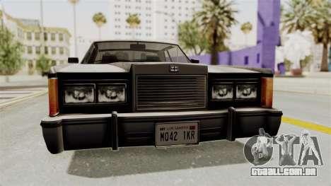 GTA 5 Dundreary Virgo SA Style para GTA San Andreas vista interior