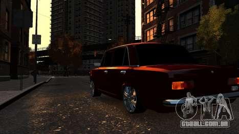 VAZ 21011 Style para GTA 4 vista de volta