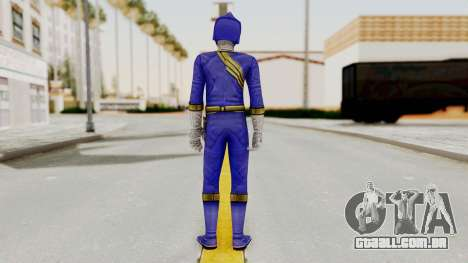 Power Rangers Wild Force - Blue para GTA San Andreas terceira tela