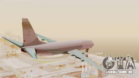 Boeing 737-3U3 Garuda Indonesia para GTA San Andreas vista direita