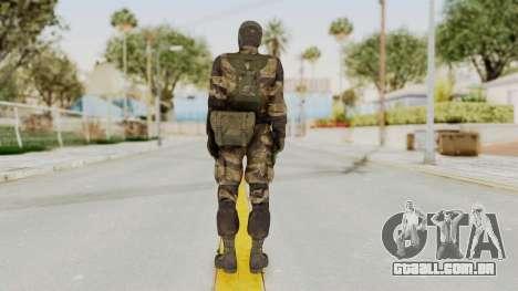 MGSV TPP Diamond Dog Combat Female para GTA San Andreas terceira tela