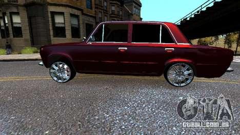 VAZ 21011 Style para GTA 4 esquerda vista