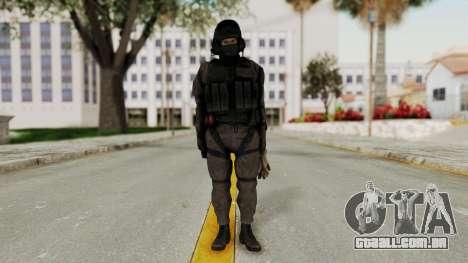 MGSV Phantom Pain Cipher XOF Afghanistan No Mask para GTA San Andreas segunda tela