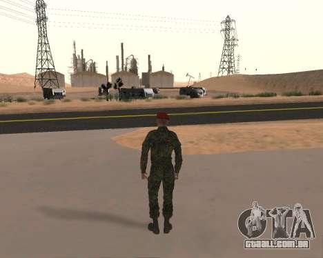 Pak Militar Russo para GTA San Andreas sétima tela