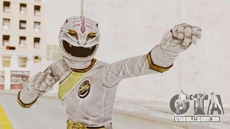 Power Rangers Wild Force - White para GTA San Andreas