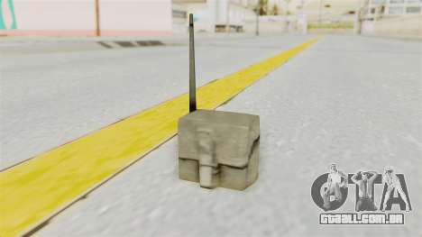 Metal Slug Weapon 4 para GTA San Andreas terceira tela