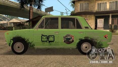 VAZ 2103 para GTA San Andreas traseira esquerda vista
