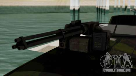 Triton Patrol Boat from Mercenaries 2 para GTA San Andreas vista traseira
